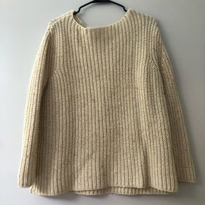 Gap oversized wool sweater